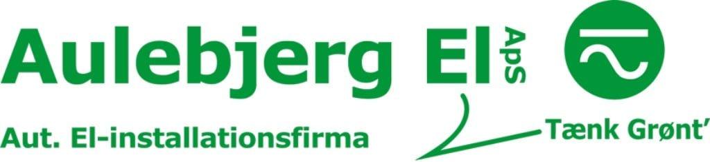 Aulebjerg El-installatør Strøby, Stevns, logo